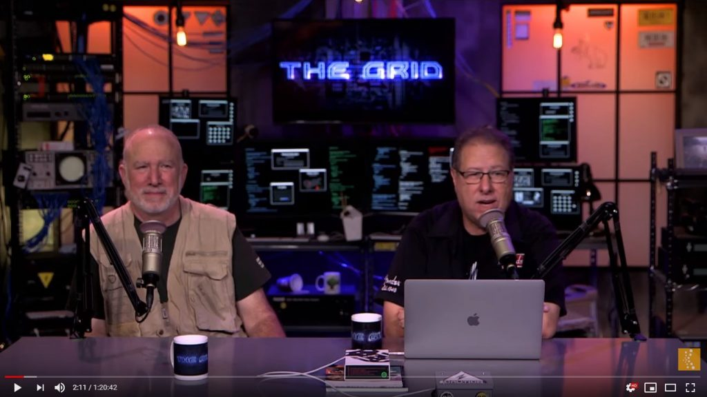 "On ""The Grid"" episode 417"